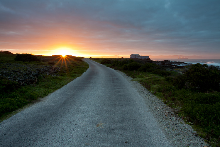 Ring Road at sunrise on Robben Island | Photodestination | Arne Purves
