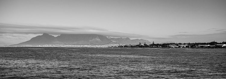 Cape Town from Robben Island | Photodestination | Arne Purves