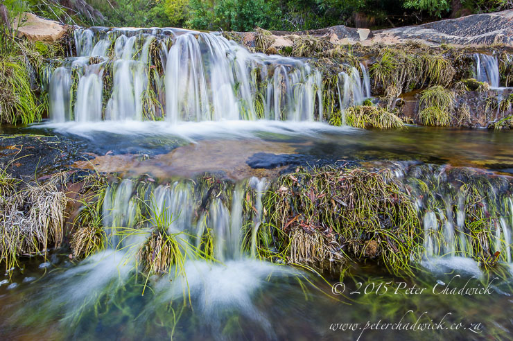 Crystal clear waterfall_PeterChadwick_AfricanConservationPhotographer