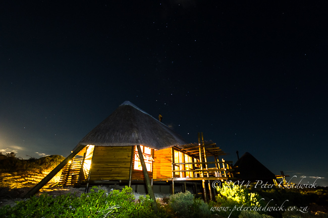 Agulahs National Park chalets by wildlife and conservation photographer Peter Chadwick