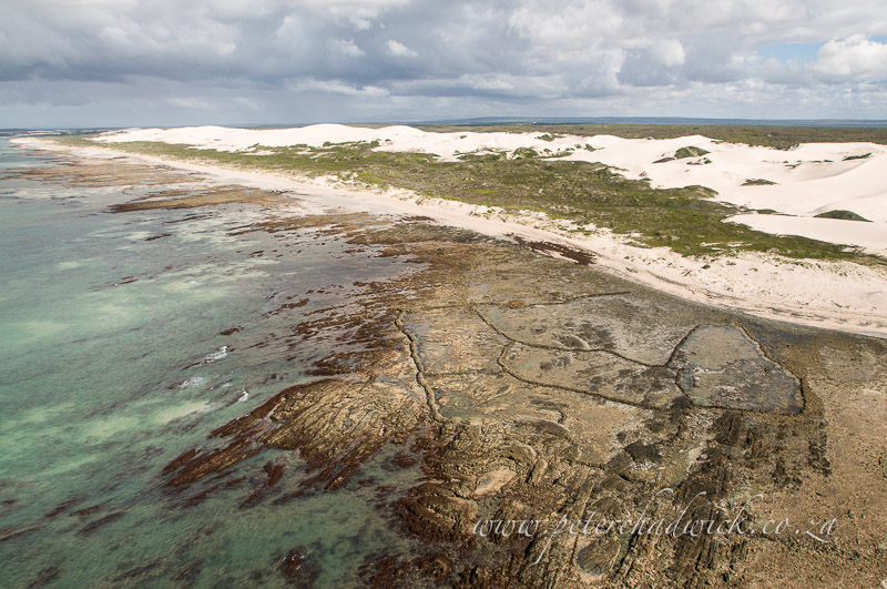 archaeological coastal fish traps by wildlife and conservation photographer Peter Chadwick