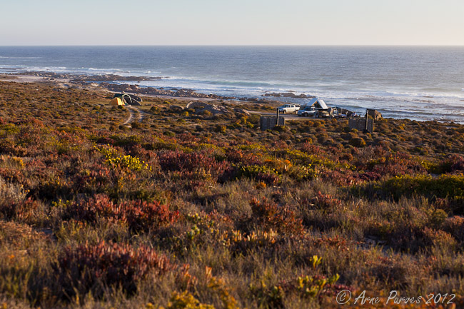Varswater Campsite in namaqua national park