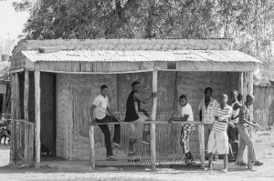 Mozambican tuck shop by wildlife and conservation photographer Peter Chadwick.