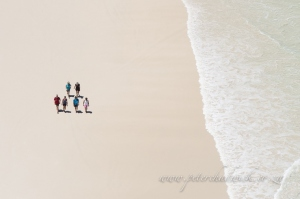 Whale trail hikers by wildlife and conservation photographer Peter Chadwick