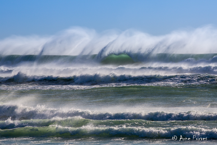 Crashing Waves | Marine Week| Arne Purves