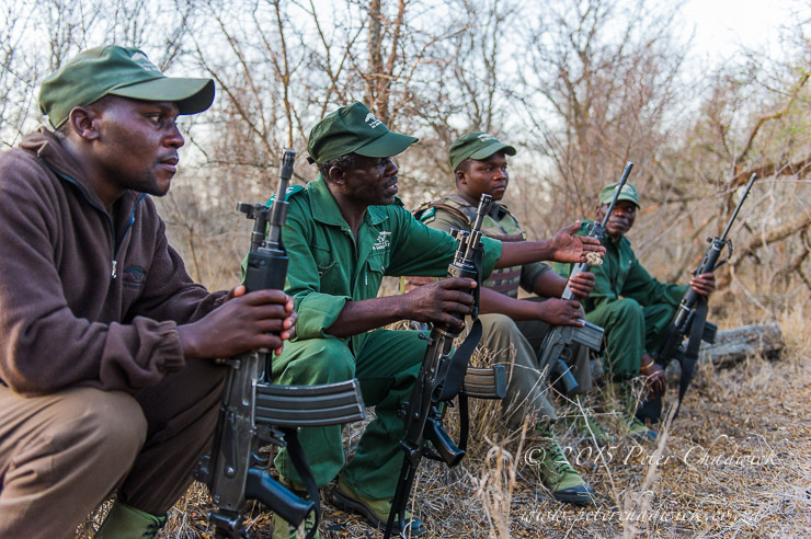 Rangers on Patrol_PeterChadwick_AfricanConservationPhotographer