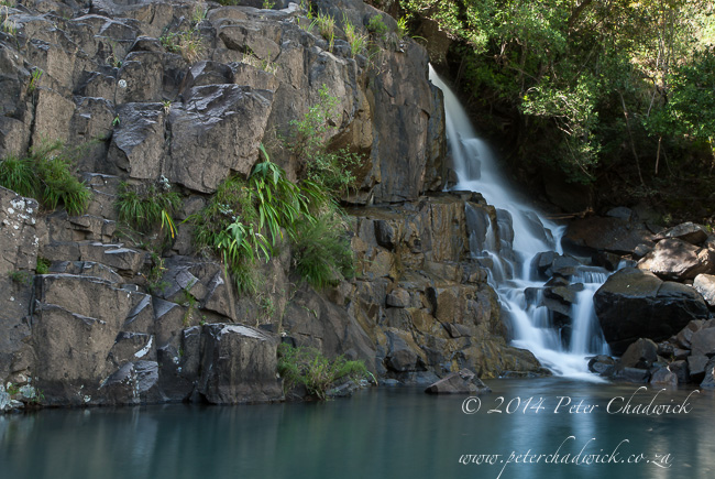 Jacobs ladder waterfall by wildlife and conservation photographer Peter Chadwick