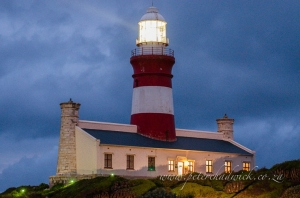 Agulhas Lighthouse by wildlife and conservation photographer Peter Chadwick