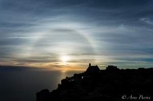 Table Mountain Halo Sunset | Landscape Photography | © Arne Purves